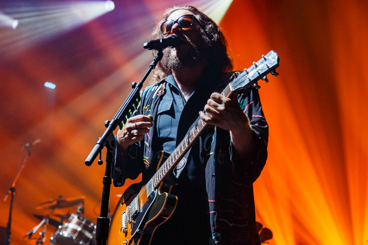 There's Jim James of My Morning Jacket...and then there's every other rock star who isn't Jim James. My Morning Jacket performing at Merriweather Post Pavilion - 7/26/15 (photo by Matt Condon)