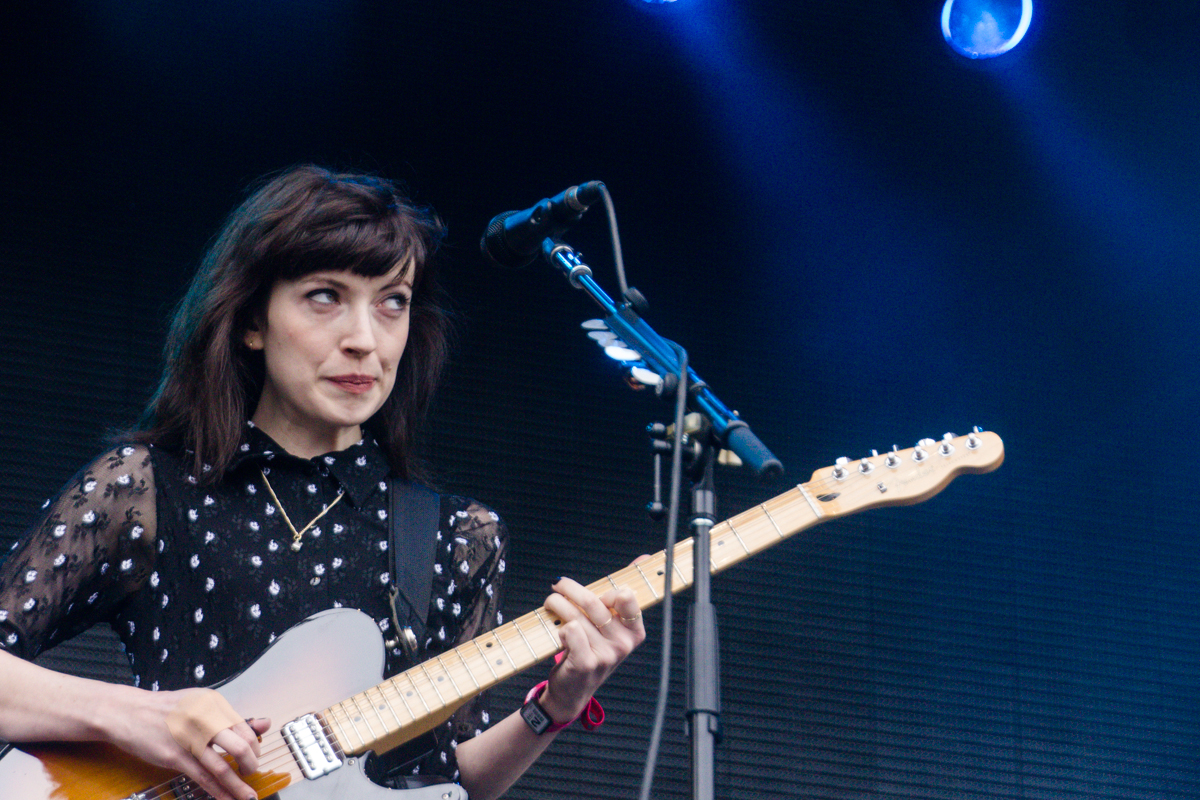 Daughter performing at the 2015 Landmark Music Festival in Washington, DC - 2-26-15 (photo by Kevin Hill)