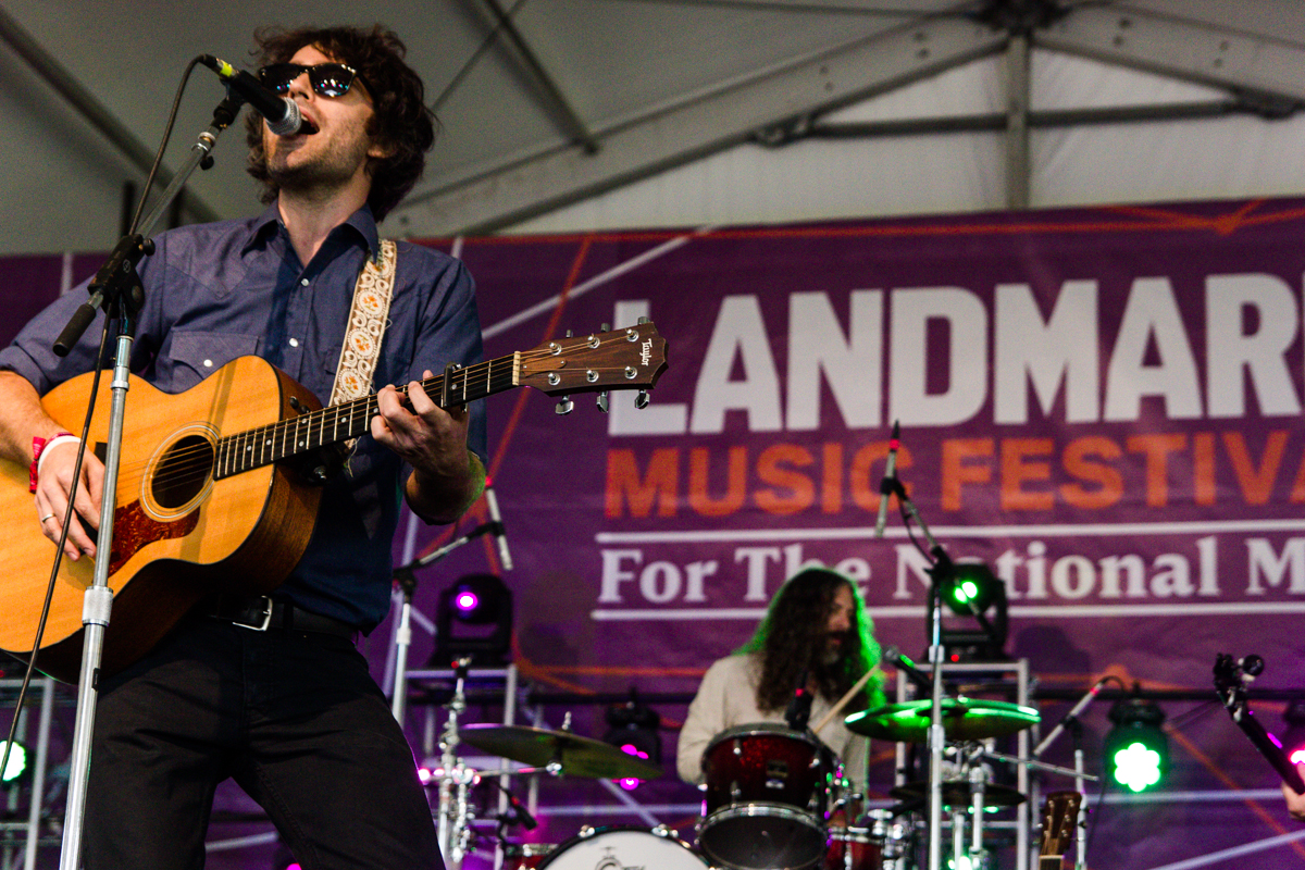 Vandaveer performing at the 2015 Landmark Music Festival in Washington, DC - 2-26-15 (photo by Kevin Hill)