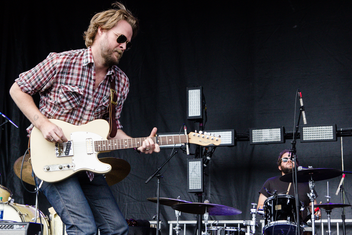 Hiss Golden Messenger performing at the 2015 Landmark Music Festival in Washington, DC - 2-27-15 (photo by Kevin Hill)