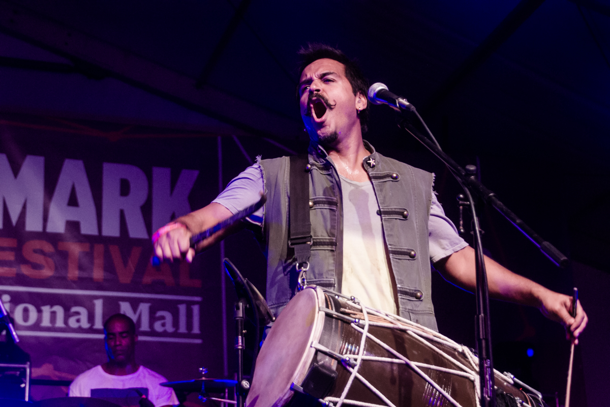 Red Baraat performing at the 2015 Landmark Music Festival in Washington, DC - 2-27-15 (photo by Kevin Hill)