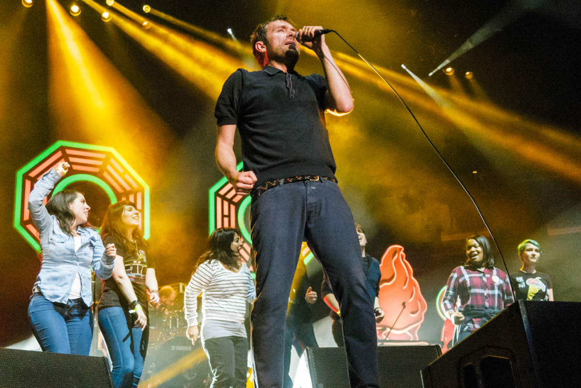 Blur performing at Madison Square Garden in New York City - 10/23/15 (photo by Matt Condon/@arcane93)