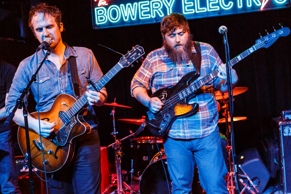 Hallelujah The Hills performing at the Bowery Electric in New York, NY on 11/14/15 (photo by Matt Condon/@arcane93)