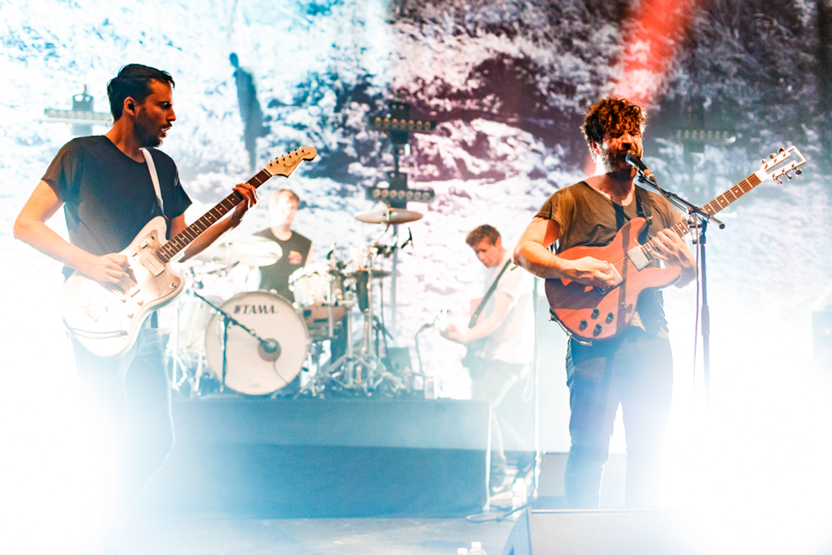 Foals performing at the Lincoln Theatre in Washington, DC on 12/16/15 (photo by Matt Condon/@arcane93)