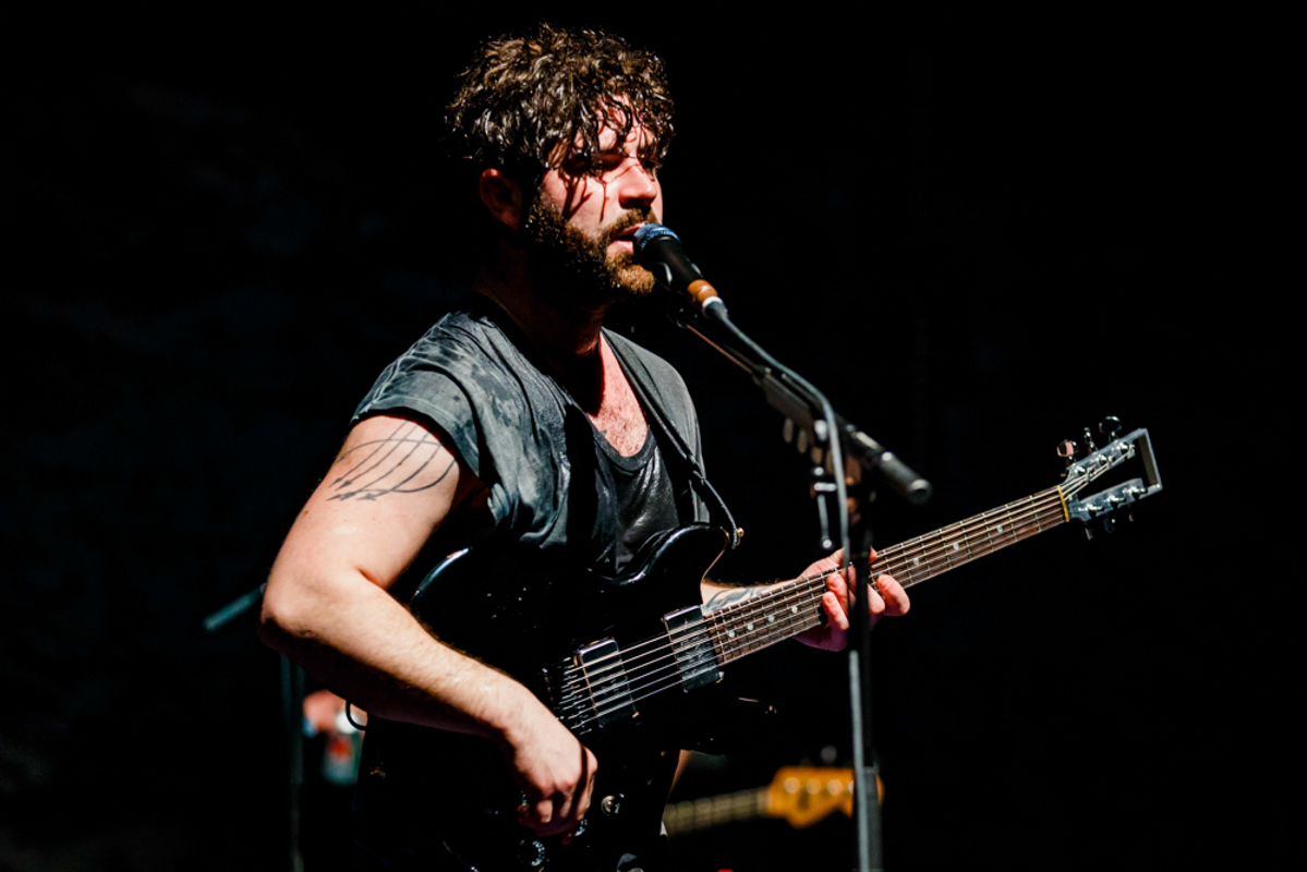 Foals Yannis Philippakis at the Lincoln Theatre in Washington, DC (photo by Matt Condon/@arcane93)
