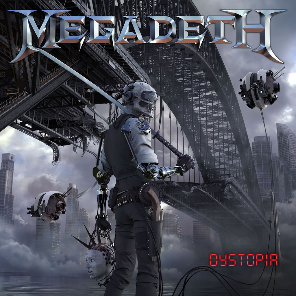 Dystopia  Megadeth  Kevin: Buy It Eduardo: Stream It   Official Site  |  Facebook  |  Twitter  |  Spotify