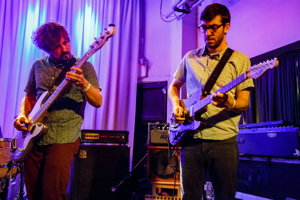 Chris Forsyth and the Solar Motel Band performing at the Metro Gallery in Baltimore, MD - 7/8/2016 (photo by Matt Condon / @arcane93)