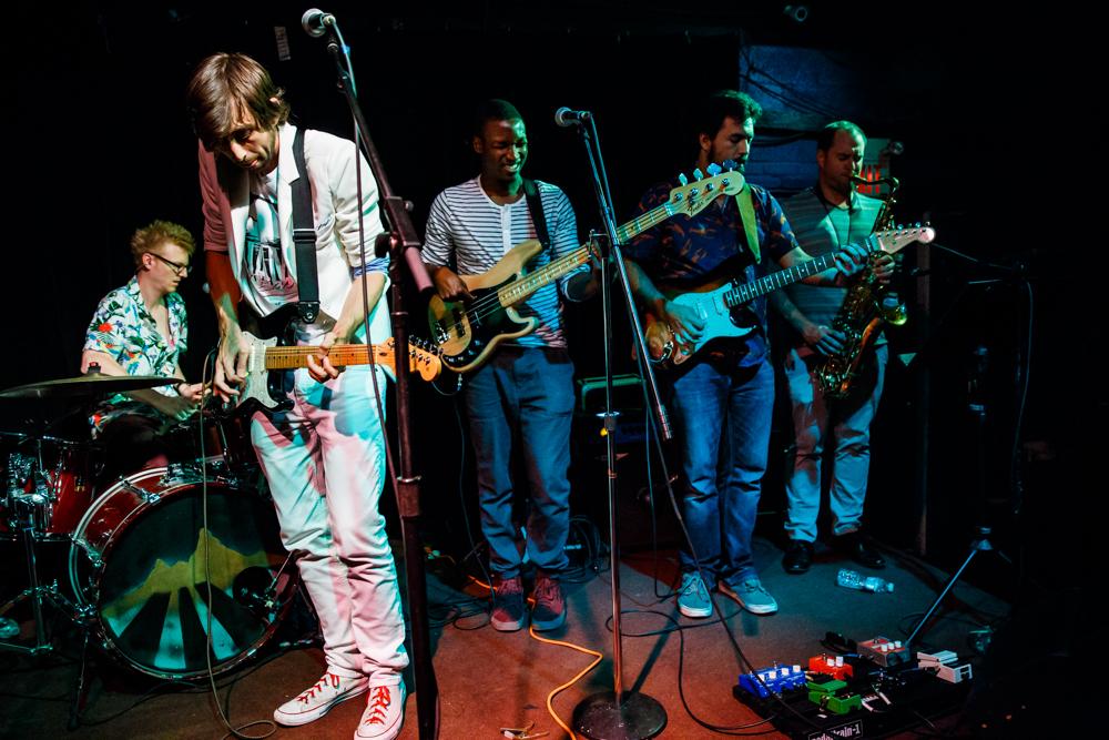 Alex Vans performing at the Black Cat in Washington, DC - 7/26/2016 (photo by Matt Condon / @arcane93)
