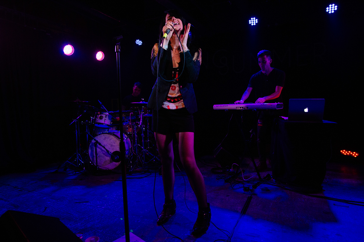 Young Summer performing at U Street Music Hall in in Washington, DC - 7/22/16 (photo by Mauricio Castro)