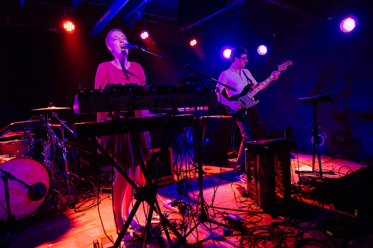 The Galaxy Electric opening for Young Summer at U Street Music Hall in in Washington, DC - 7/22/16 (photo by Mauricio Castro)