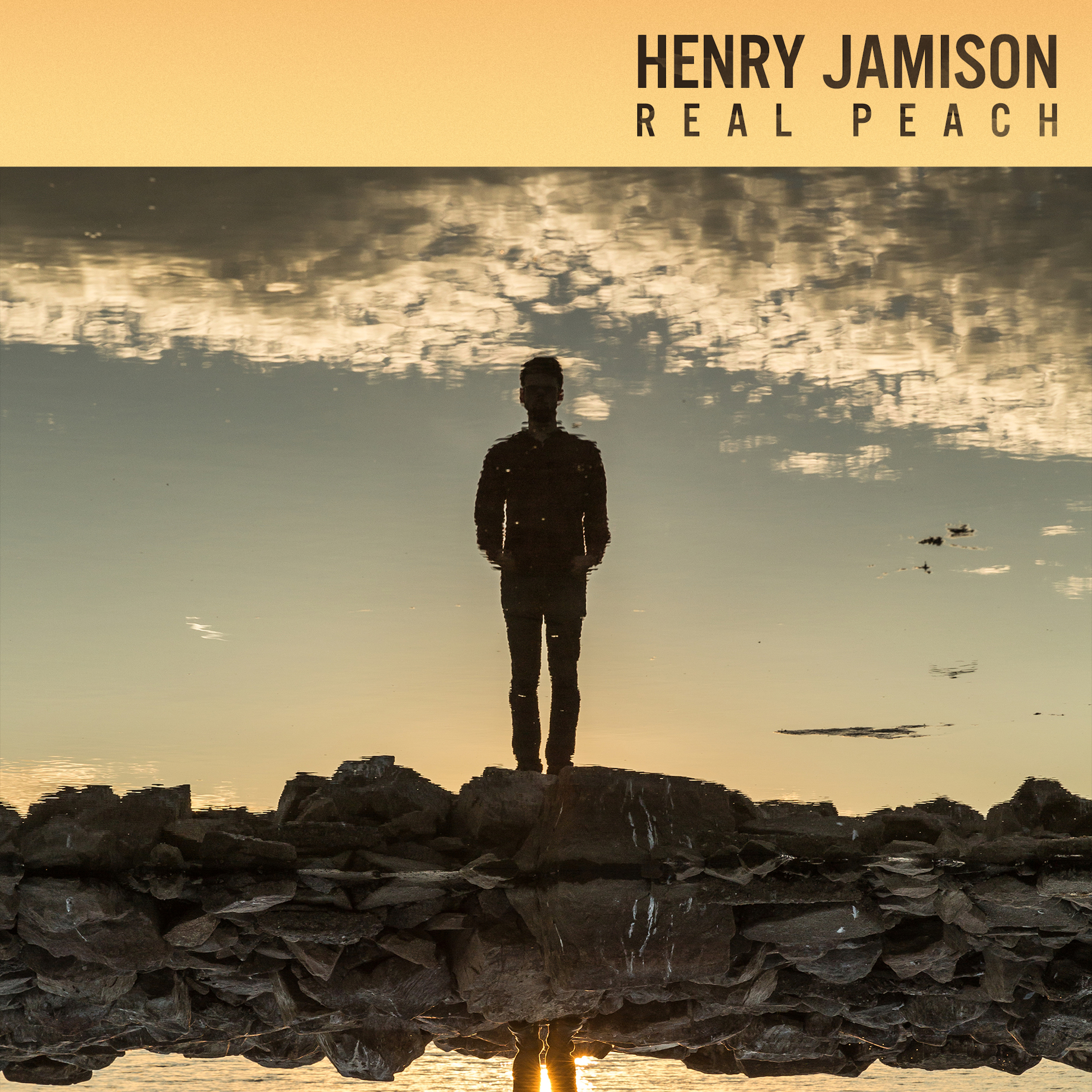 "Henry Jamison Track: ""Real Peach"" Album:  The Rains  EP   (out 10/14)    Links   Facebook   Twitter   Instagram"