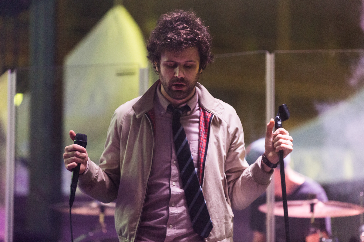 Passion Pit performing at All Things Go's 2016 Fall Classic in Washington, DC (photo by Mauricio Castro / @TheMauricio)