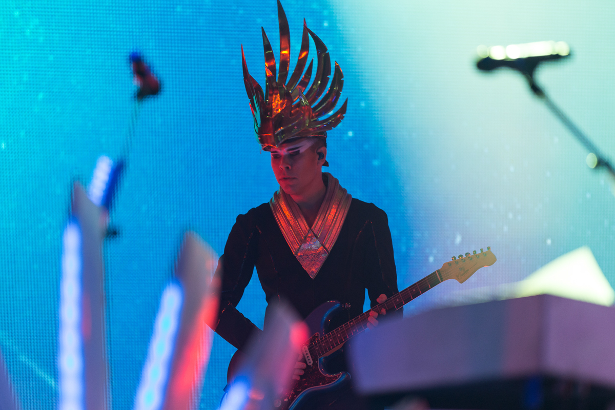 Empire Of The Sun performing at All Things Go's 2016 Fall Classic in Washington, DC (photo by Mauricio Castro / @TheMauricio)