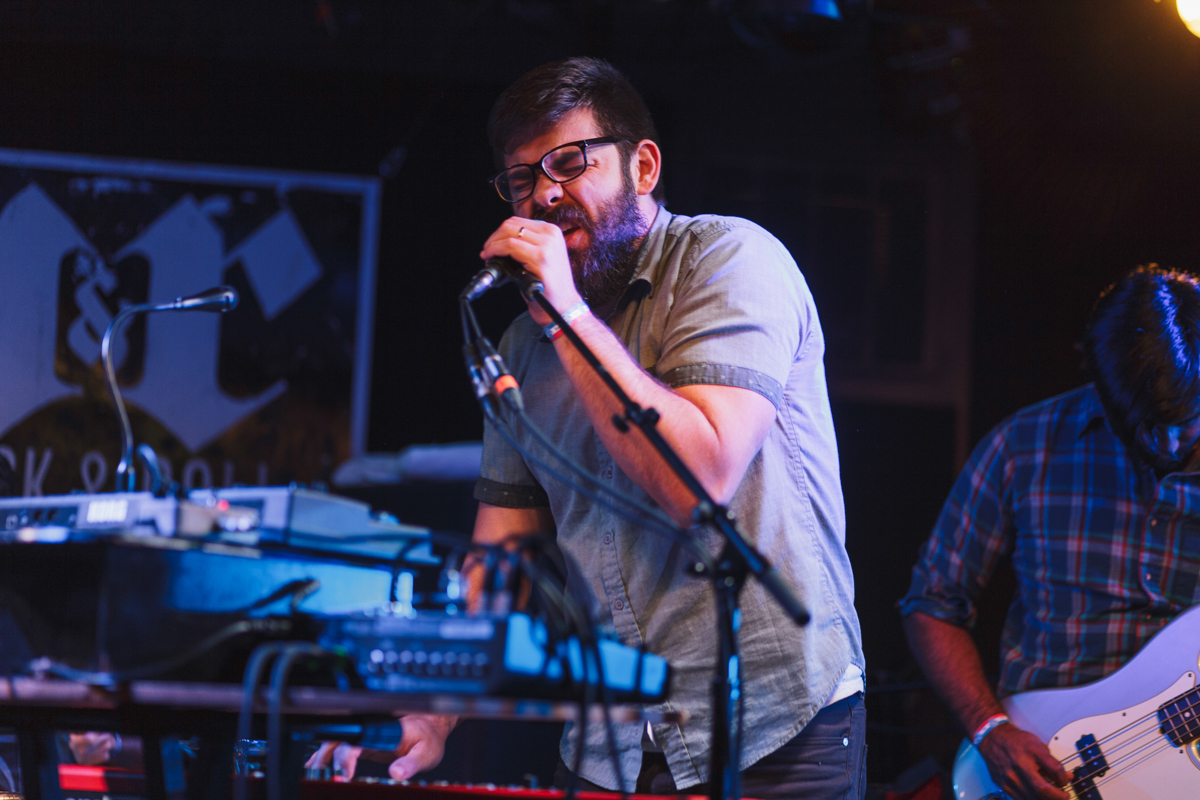 Fellow Creatures opening for Kingsley Flood at the Rock & Roll Hotel in Washington, DC - 11/19/16 (photo by Mauricio Castro/@TheMauricio)