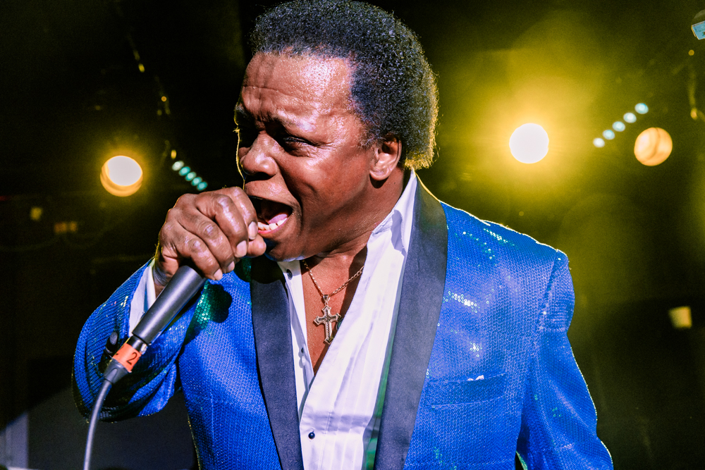 Lee Fields and the Expressions performing at the Rock and Roll Hotel in Washington, DC on February 18th, 2017 (photo by Matt Condon /  @arcane93 )