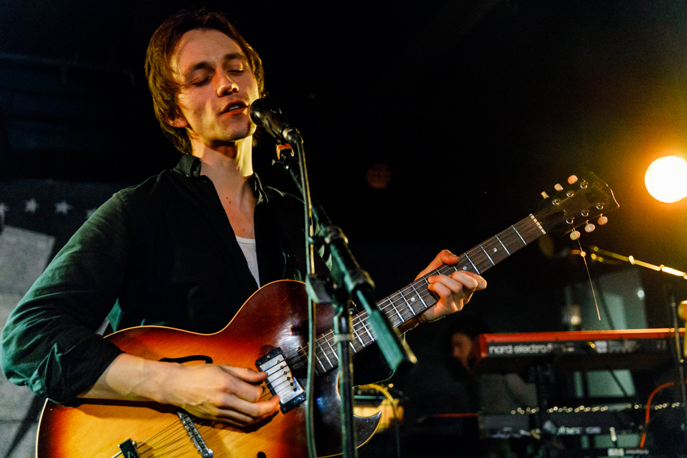 Sondre Lerche performing at U Street Music Hall in Washington, DC on April 17th, 2017 (photo by Matt Condon /  @arcane93 )