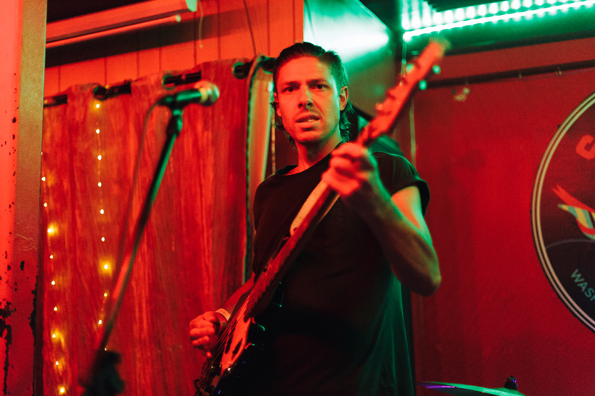 Walker Lukens @ Songbyrd (Photo by Mauricio Castro /  @themauricio )