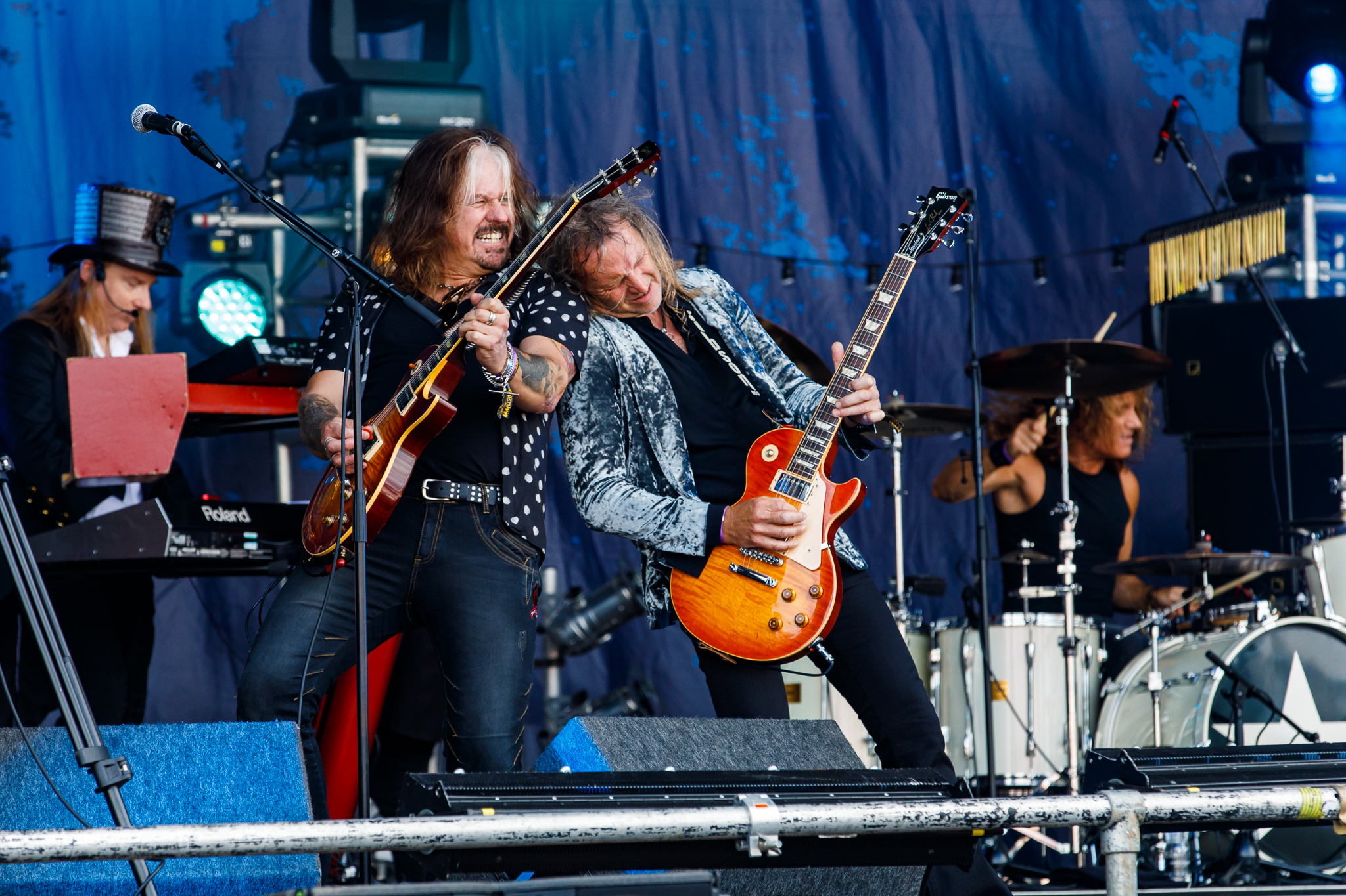 Cats In Space at Fairport's Cropredy Convention (photo by Matt Condon / @arcane93)