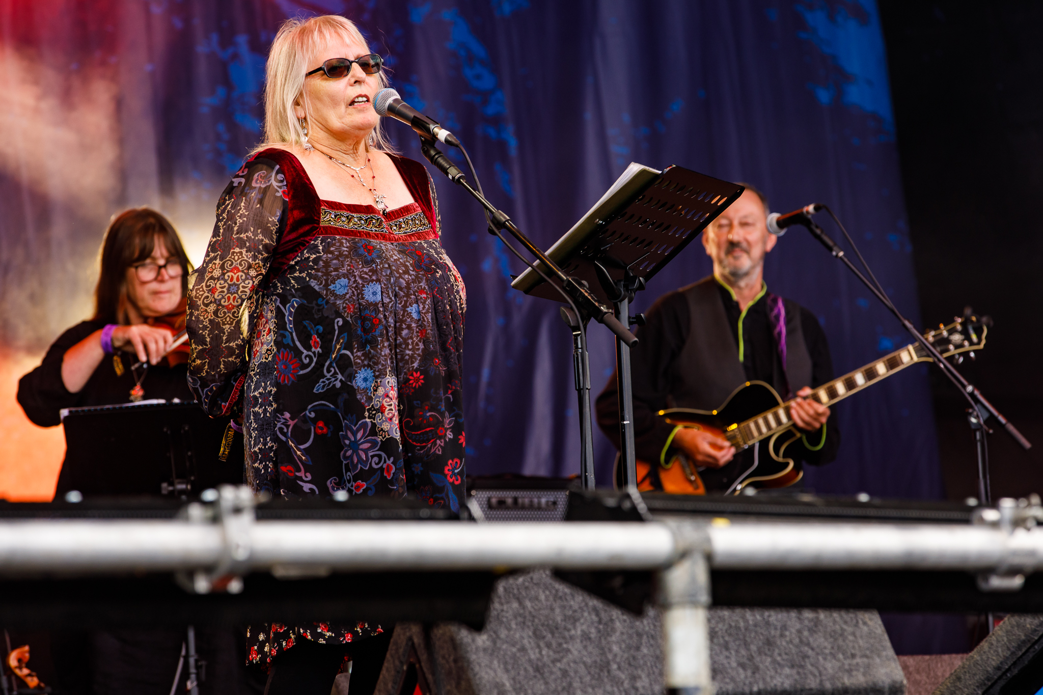 Judy Dyble at Fairport's Cropredy Convention (photo by Matt Condon / @arcane93)