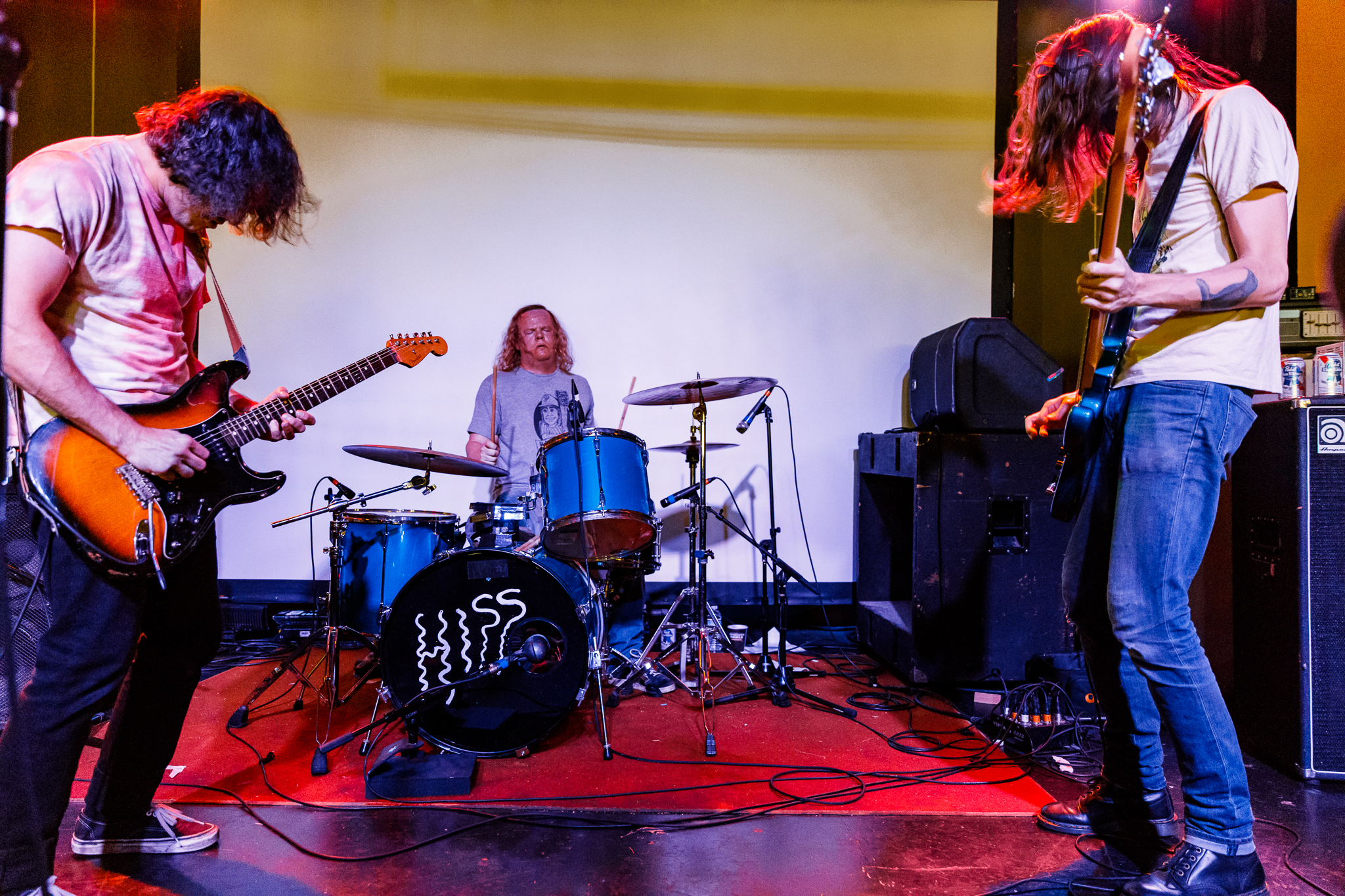 Purling Hiss performing at Hopscotch Music Festival 2017 in Raleigh, NC - 9/8/2017 (photo by Matt Condon / @arcane93)