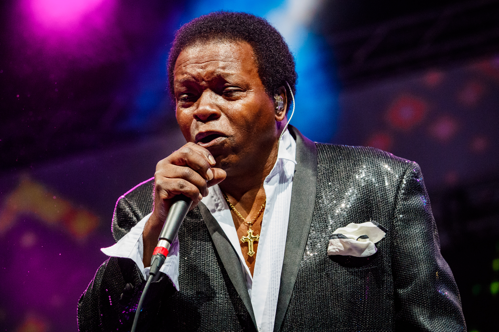 Lee Fields and the Expressions performing at Hopscotch Music Festival 2017 in Raleigh, NC - 9/8/2017 (photo by Matt Condon / @arcane93)