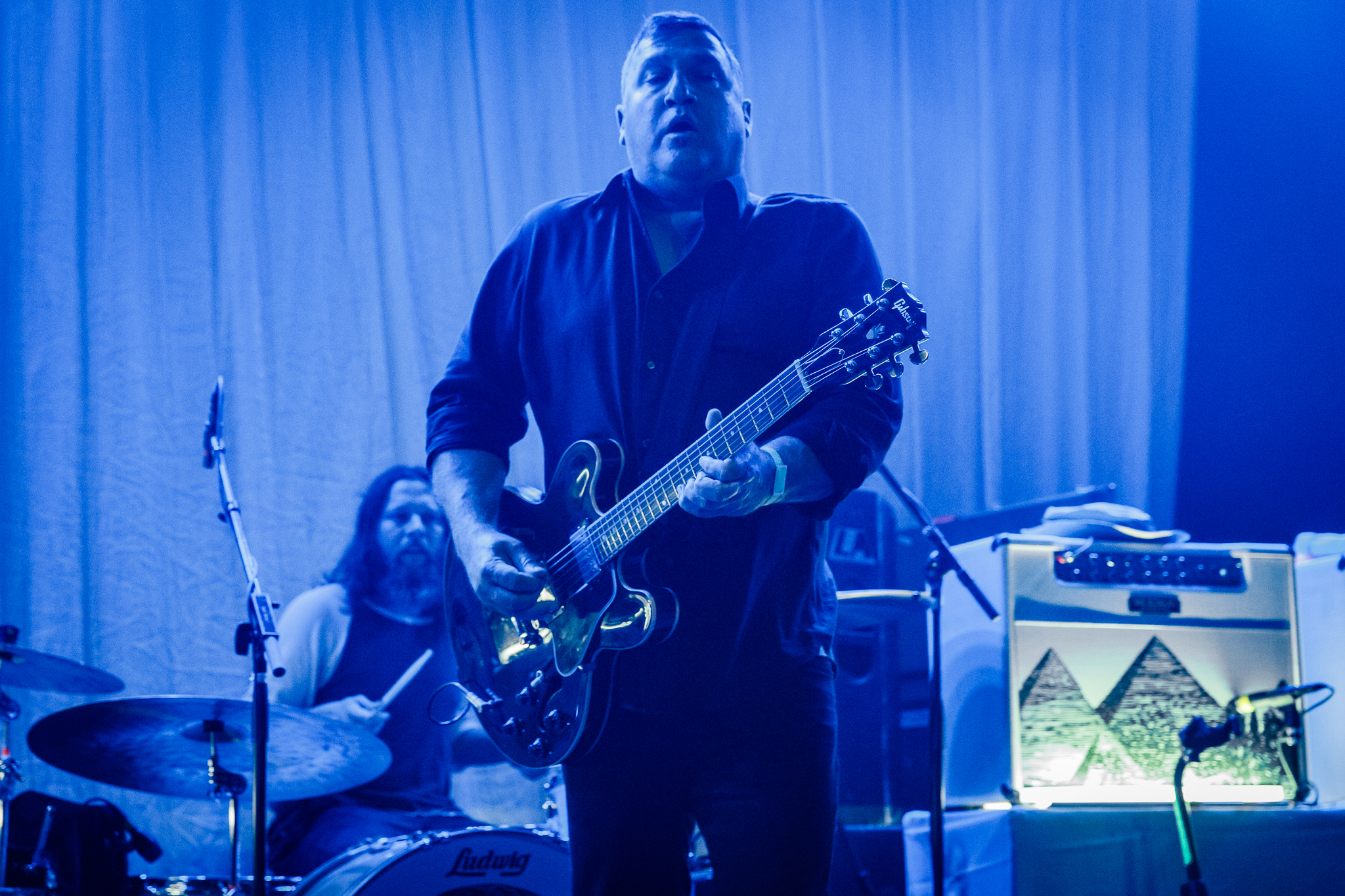 The Afghan Whigs performing at Hopscotch Music Festival 2017 in Raleigh, NC - 9/8/2017 (photo by Matt Condon / @arcane93)