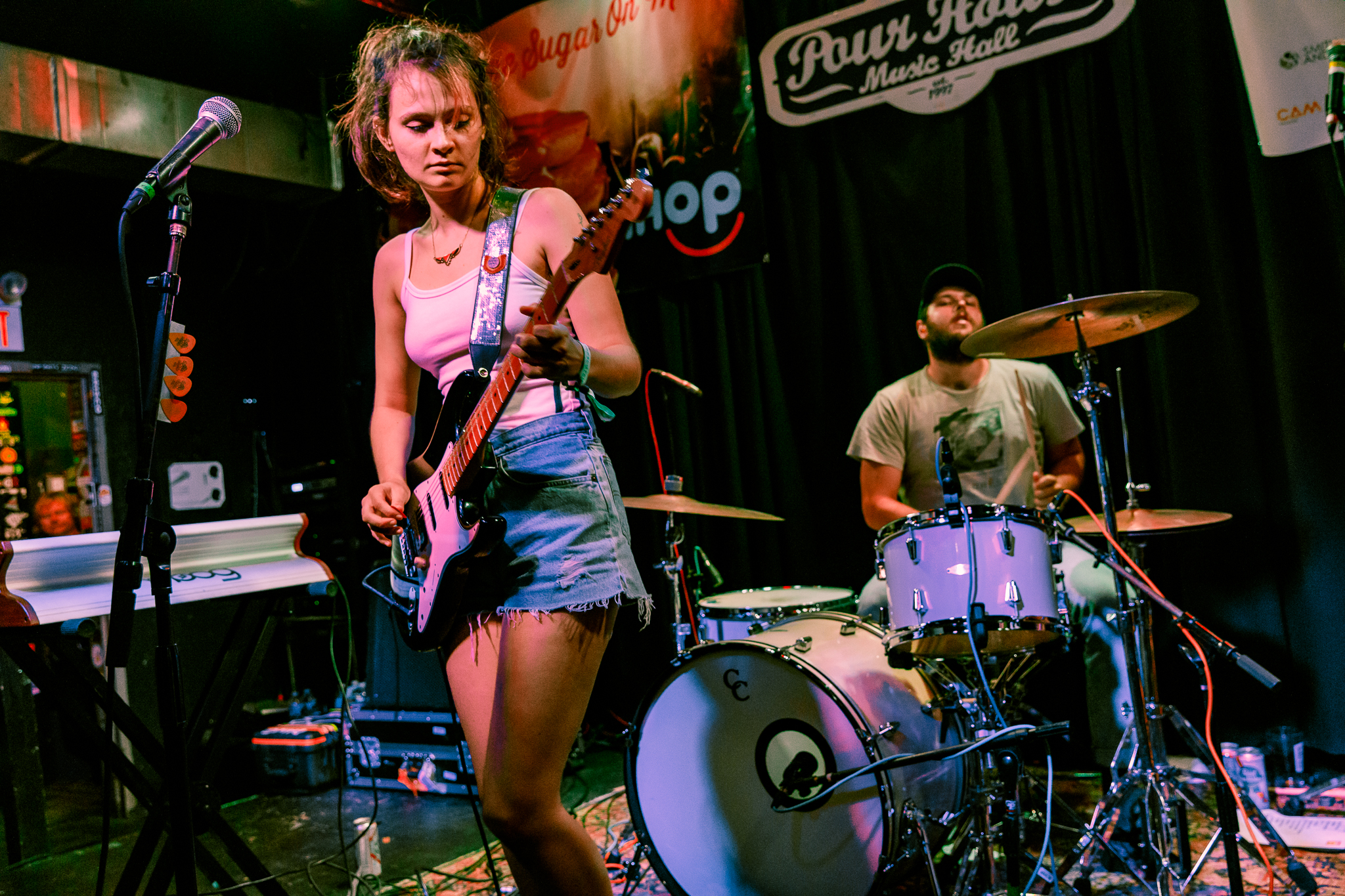 Cherry Glazerr performing at Hopscotch Music Festival 2017 in Raleigh, NC - 9/9/2017 (photo by Matt Condon / @arcane93)