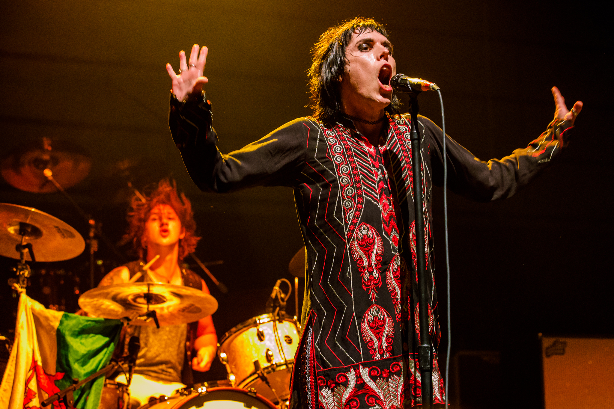 The Struts performing at The Anthem in Washington, DC - 10/12/2017 (photo by Matt Condon / @ arcane93)