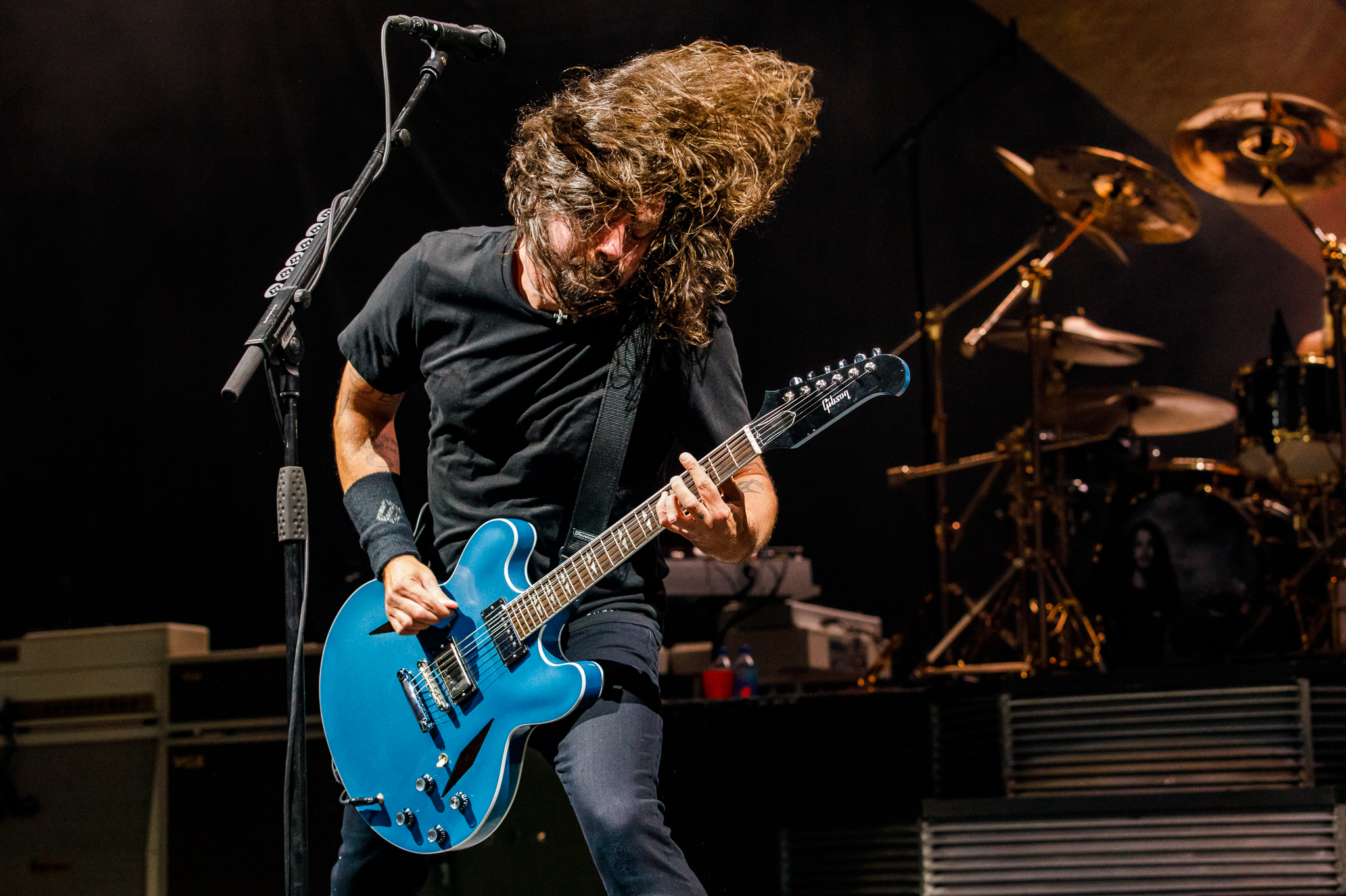 Foo Fighters performing at The Anthem in Washington, DC on October 12th, 2017 (photo by Matt Condon /  @arcane93 )