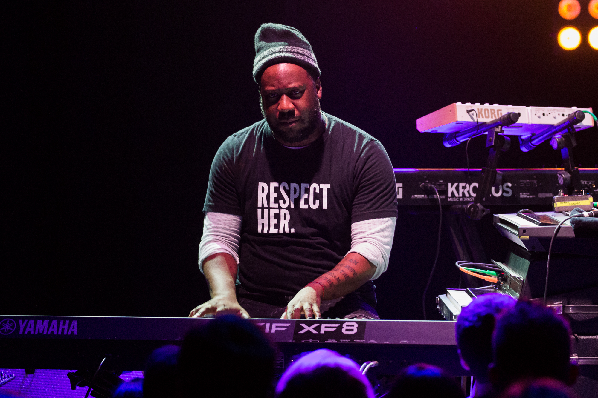 Robert Glasper at 9:30 Club (Photo by Mauricio Castro /  @themauricio )