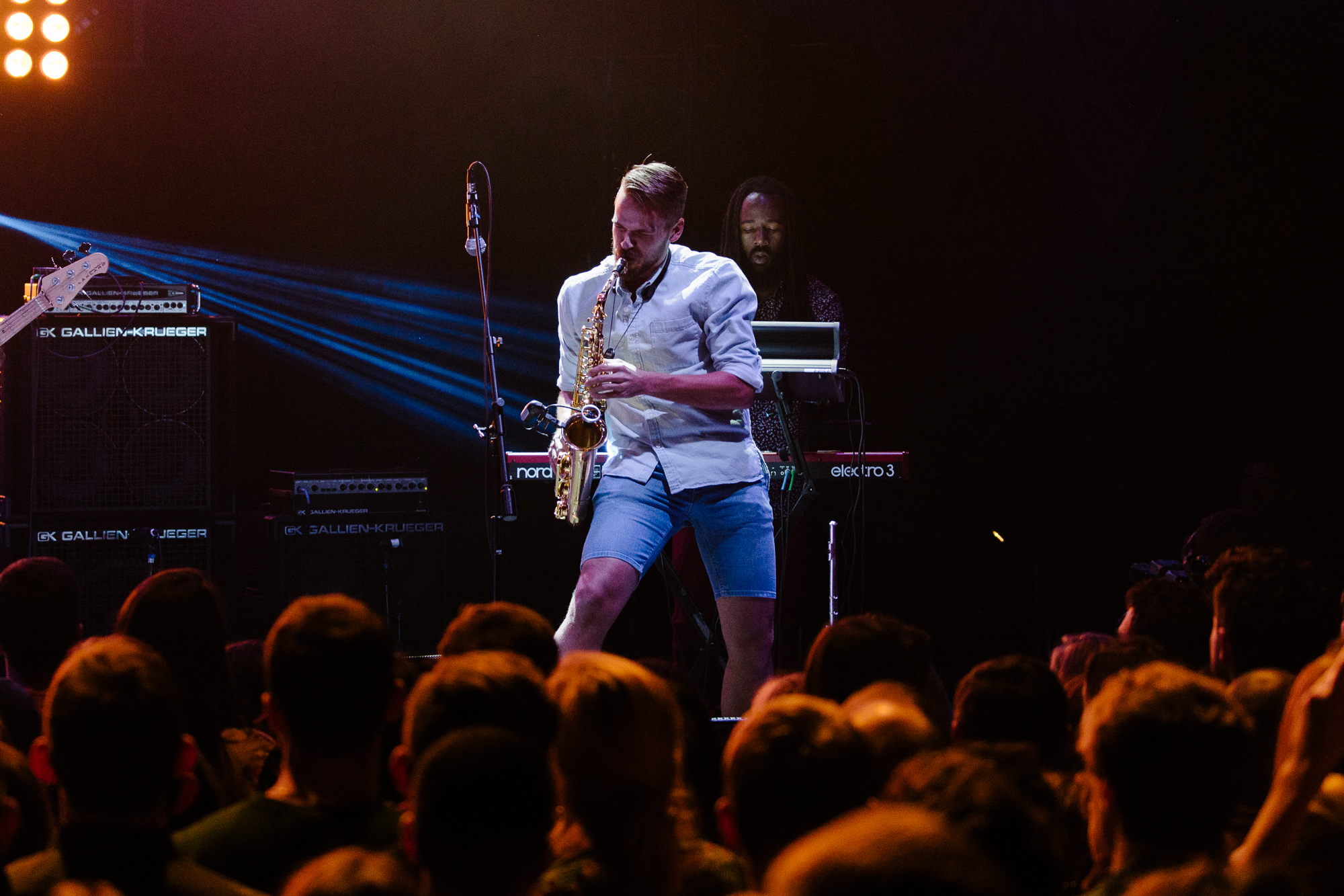 Tank & the Bangas at 9:30 Club (Photo by Mauricio Castro /  @themauricio )