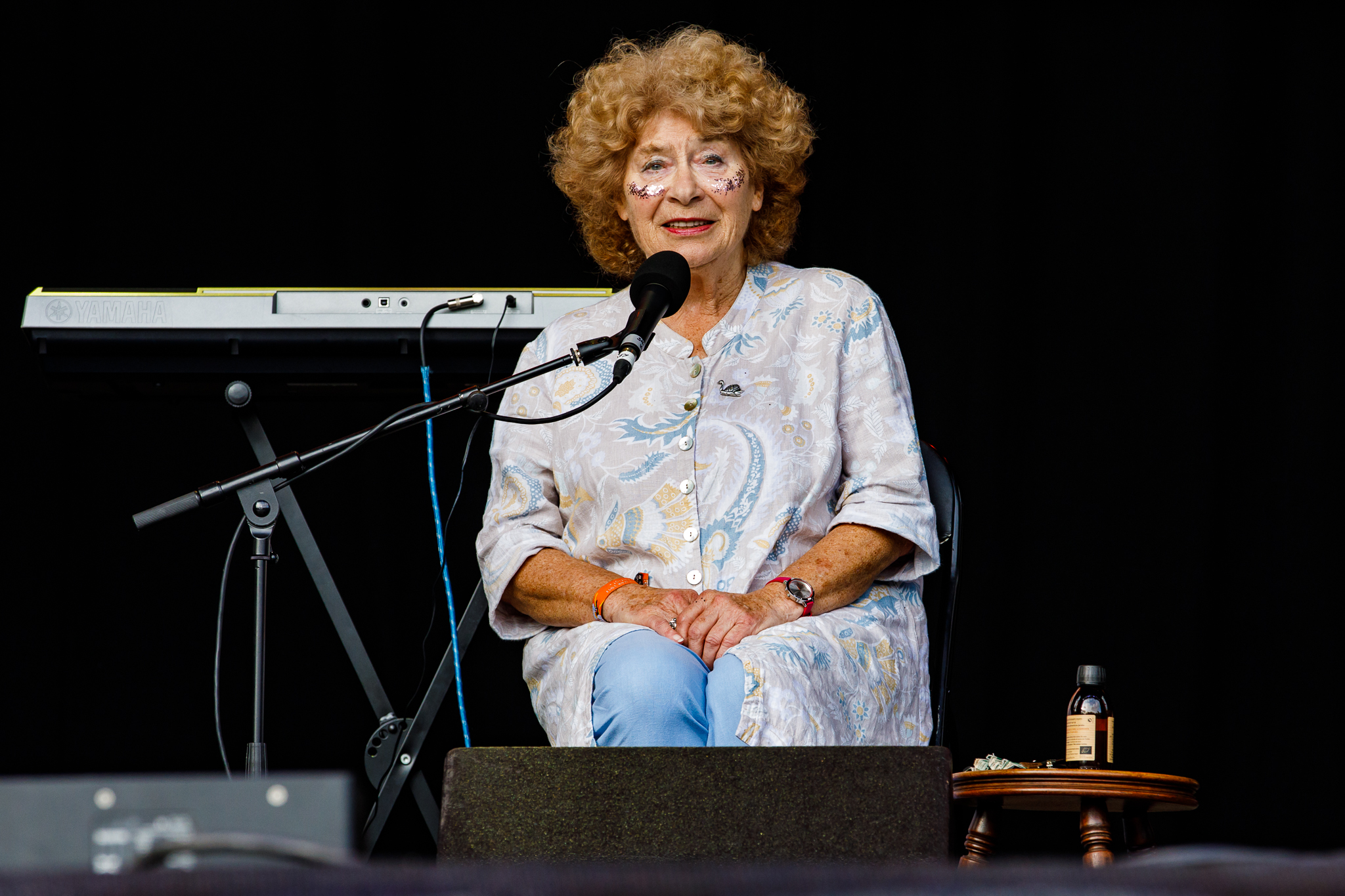 Shirley Collins @ Green Man Festival (Brecon Beacons, Wales)
