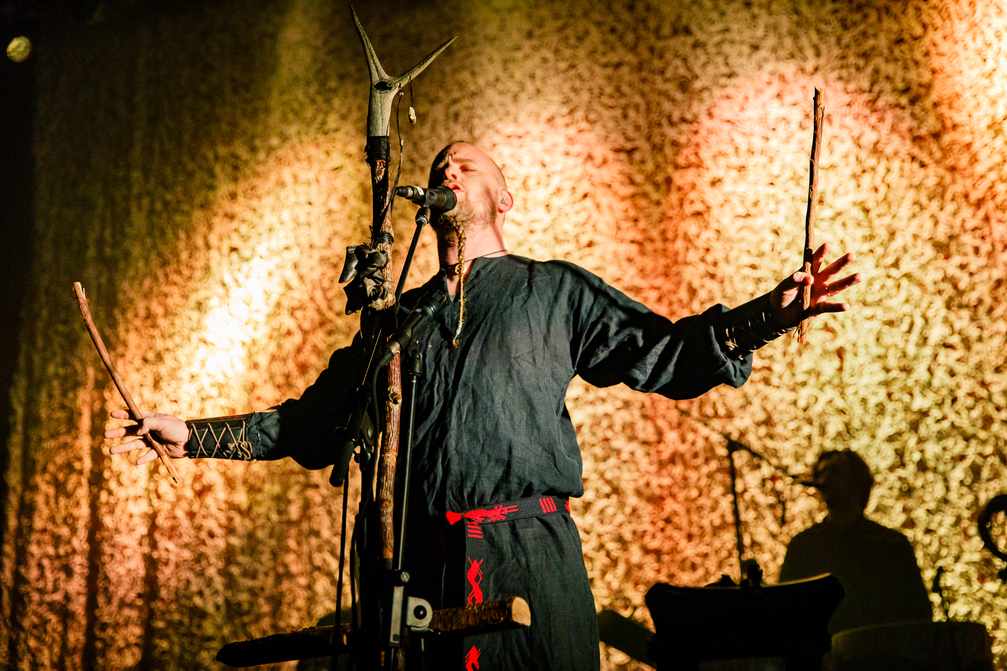 Wardruna performing at the Fillmore Silver Spring in Silver Spring, MD - 2/1/2018 (photo by Matt Condon / @arcane93)