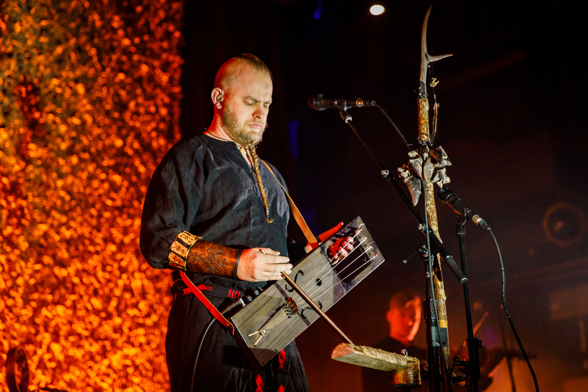 Wardruna performing at the Fillmore Silver Spring in Silver Spring, MD on February 1st, 2017 (photo by Matt Condon /  @arcane93 )