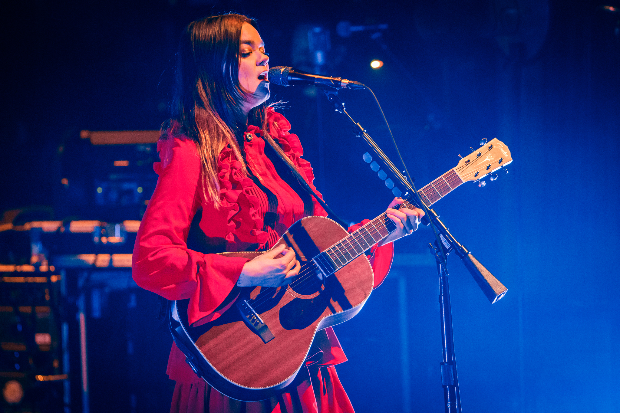 First Aid Kit performing at the Lincoln Theatre in Washington, DC - 2/9/2018 (photo by Matt Condon / @arcane93)
