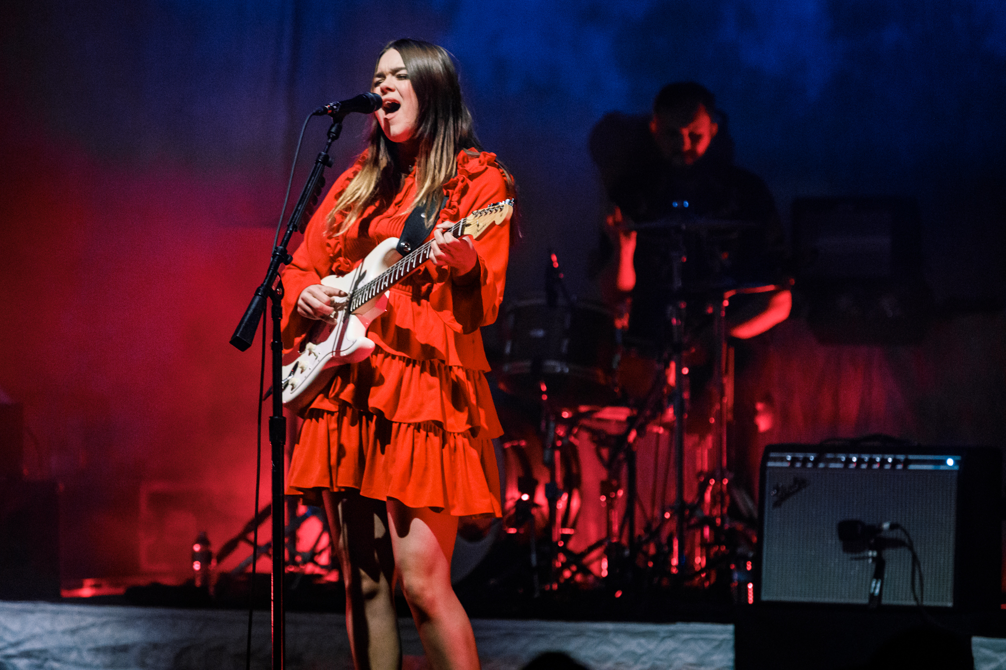 First Aid Kit performing at the Lincoln Theatre in Washington, DC on February 9th, 2018 (photo by Matt Condon /  @arcane93 )