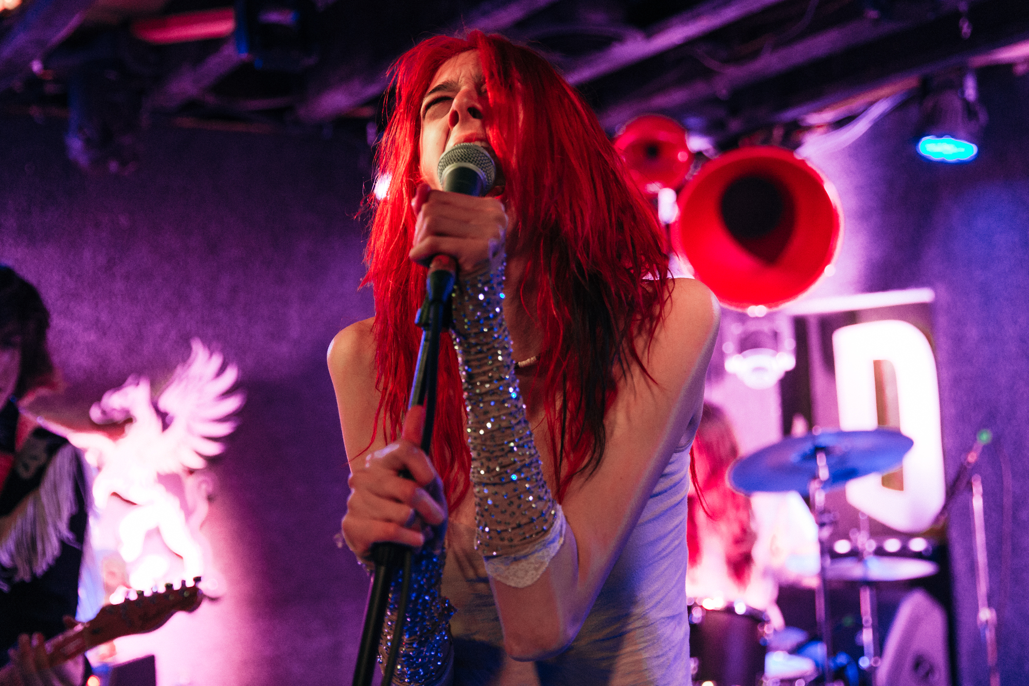 Starcrawler @ DC9 (Photo by Mauricio Castro /  @themauricio )