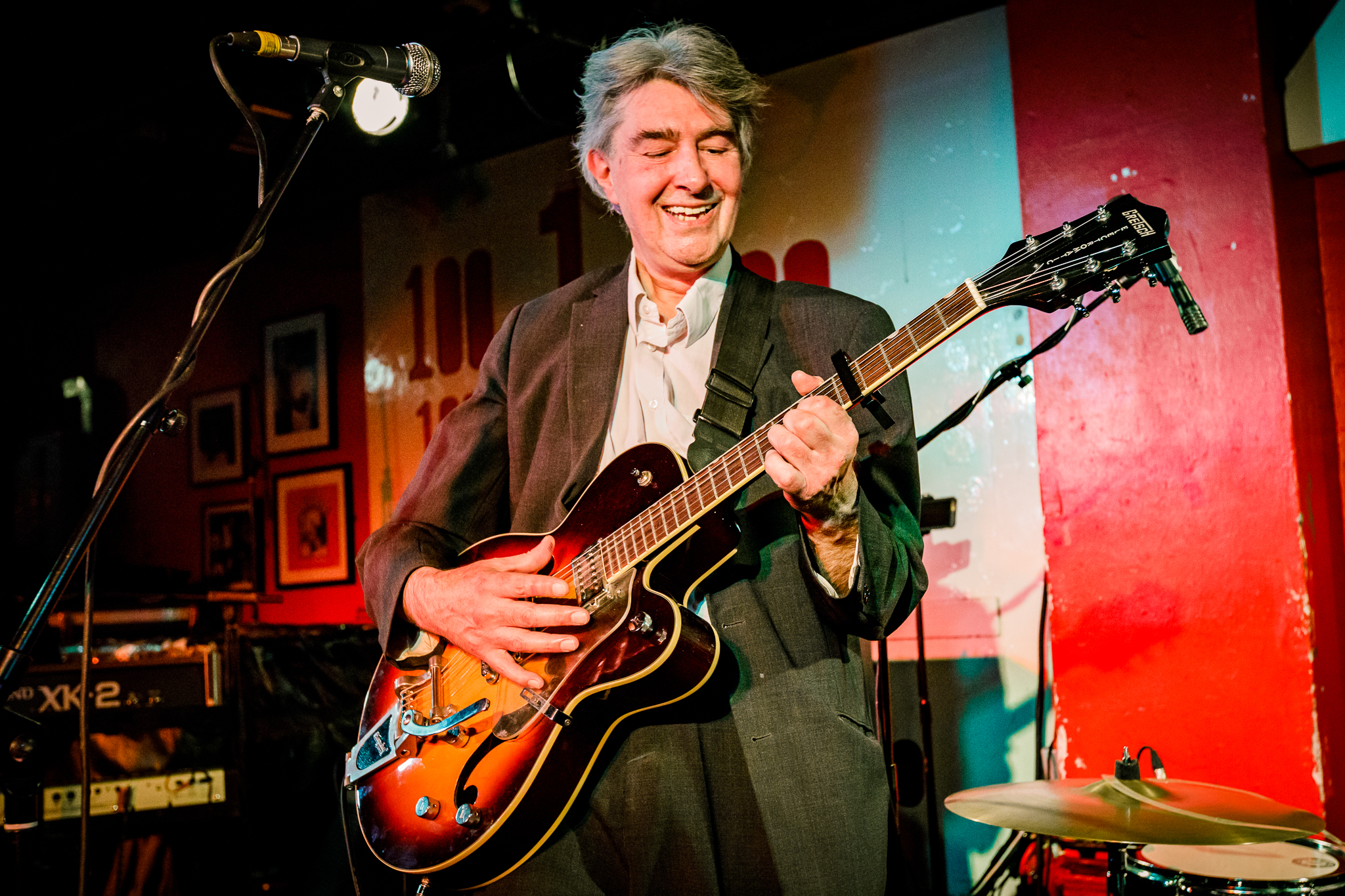 The Jazz Butcher performing at the 100 Club in London, England - 3/1/2018 (photo by Matt Condon / @arcane93)