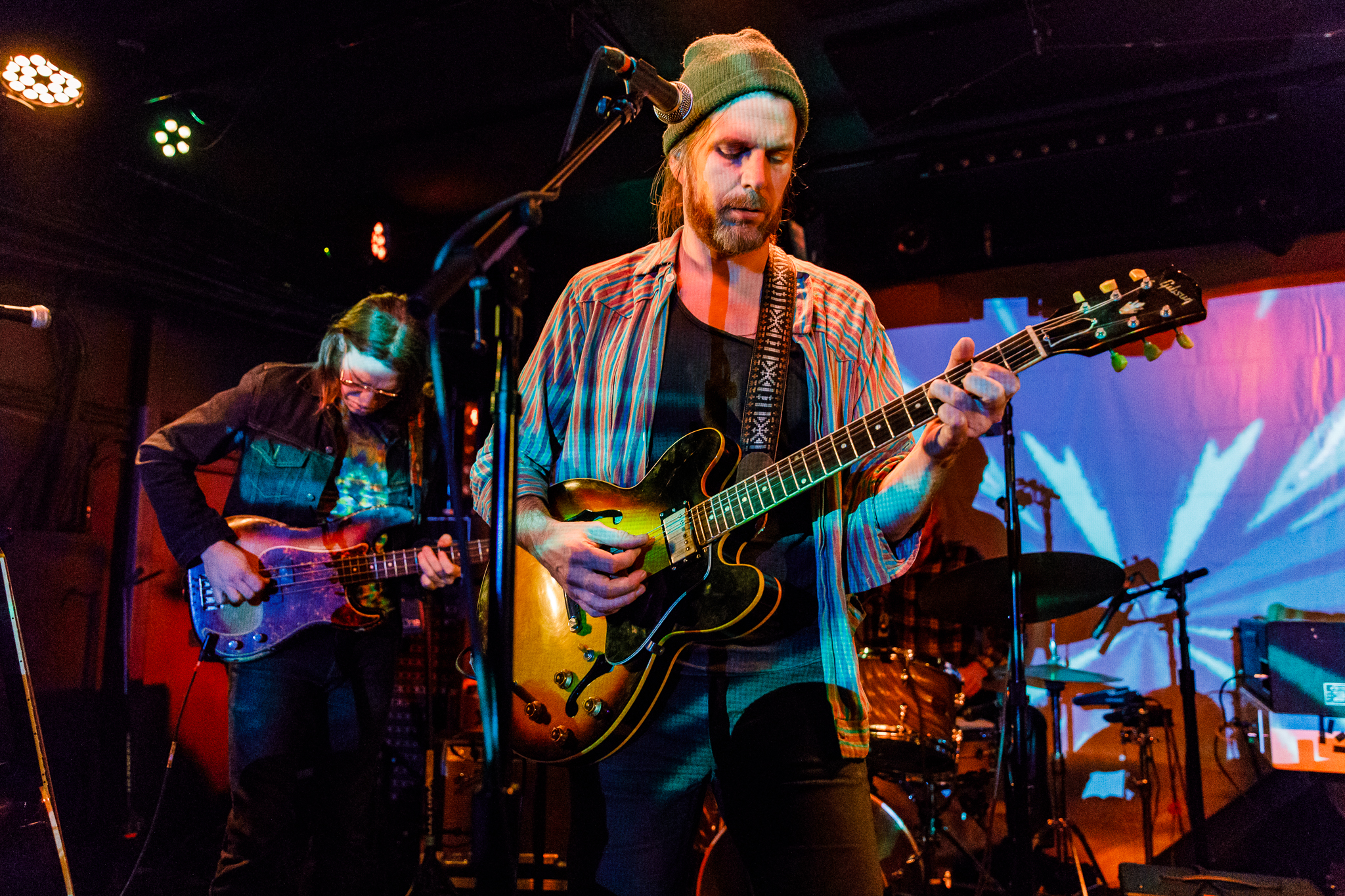 Jonathan Wilson performing at the Rock and Roll Hotel in Washington, DC - 3/8/2018 (photo by Matt Condon / @arcane93)
