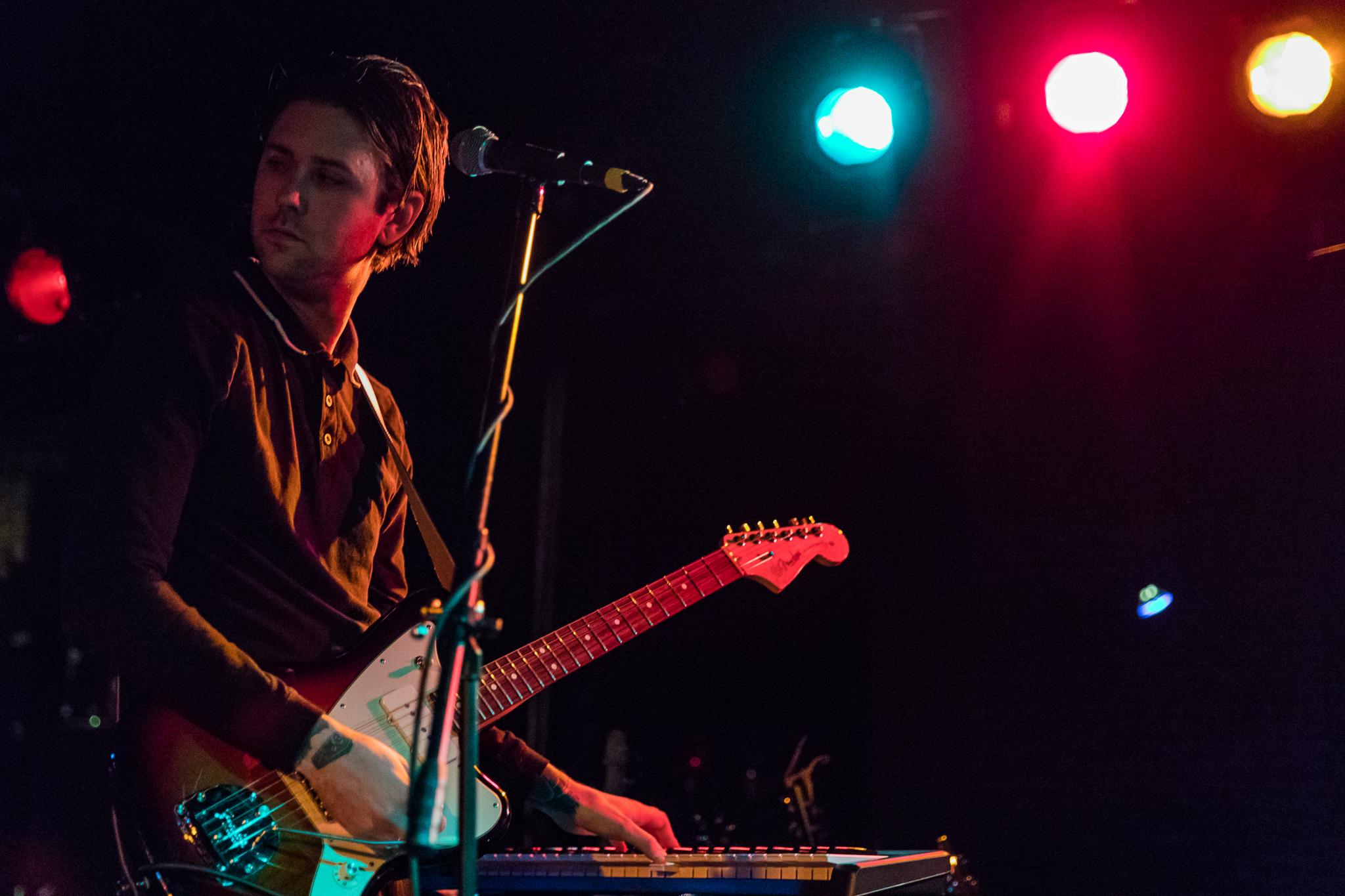Dear Boy performing at the Black Cat in Washington, DC - 3/31/2018 (photo by Matt Condon / @arcane93)