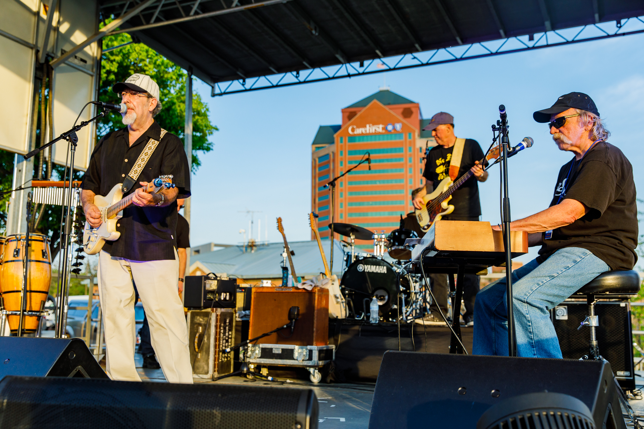 Tom Principato Band performing at WTMD First Thursday at Canton Waterfront Park, Baltimore - 5/3/2018 (photo by Matt Condon / @arcane93)