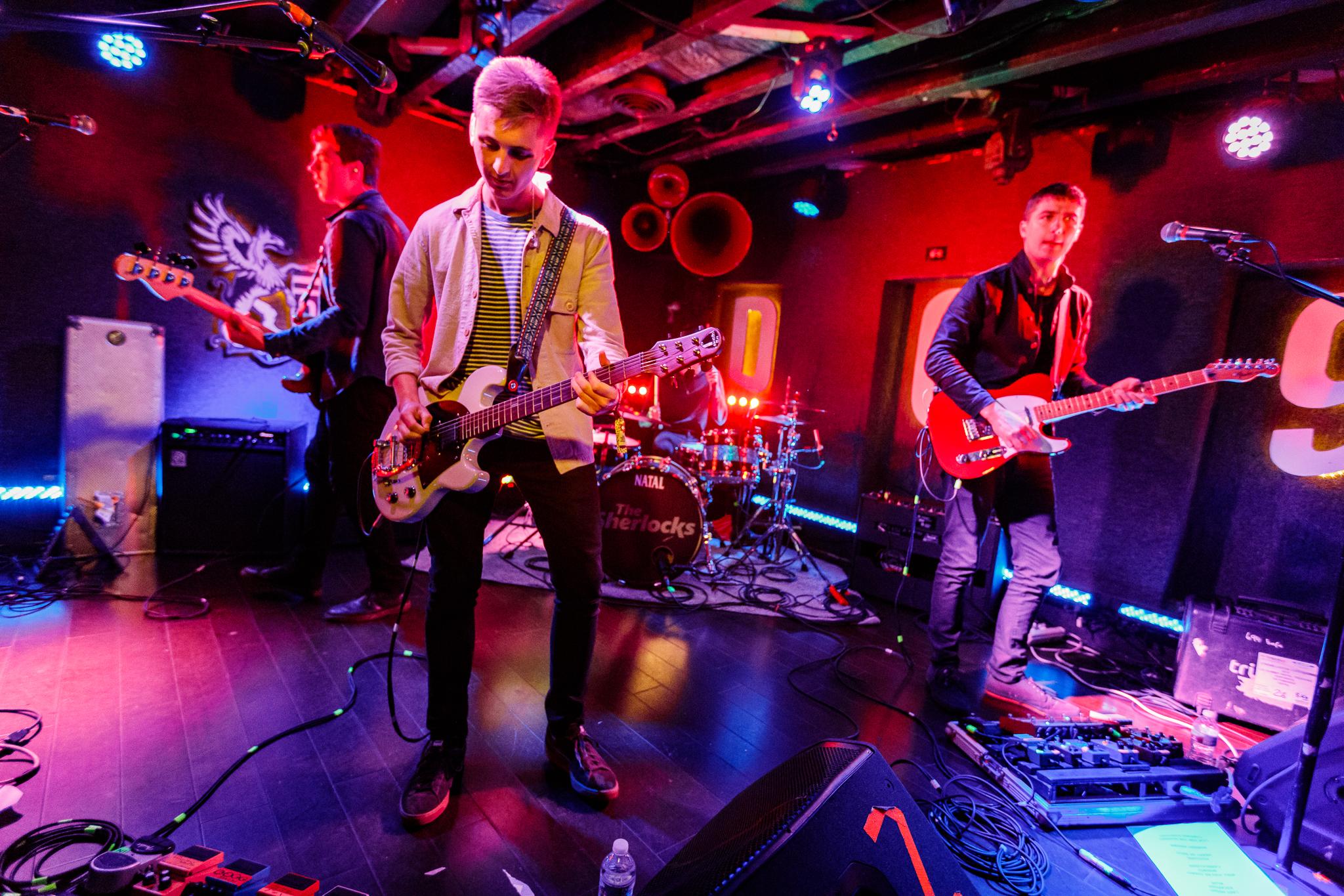 The Sherlocks performing at DC9 in Washington, DC - 5/7/2018 (photo by Matt Condon / @arcane93)
