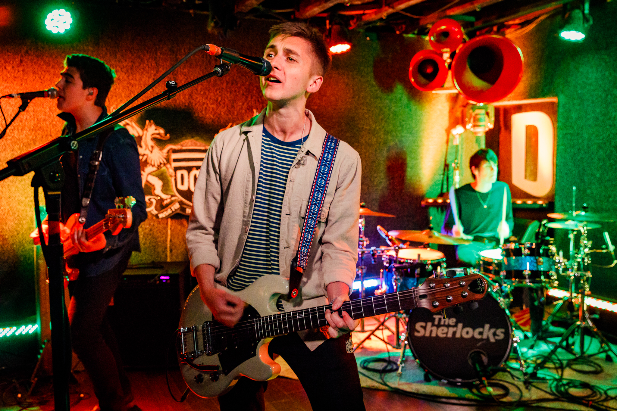 The Sherlocks performing at DC9 in Washington, DC on May 7th, 2018 (photo by Matt Condon /  @arcane93 )