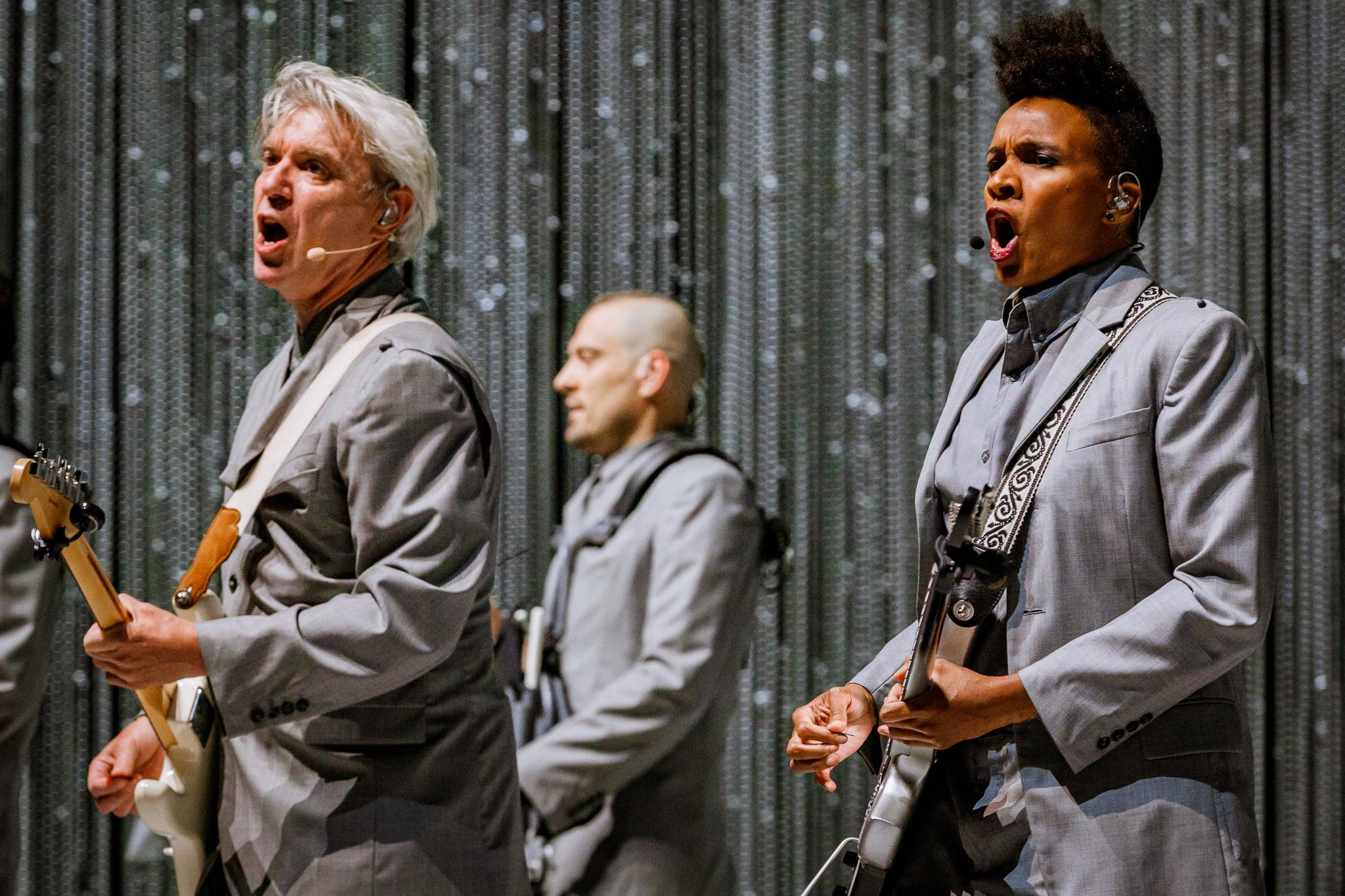 David Byrne performing at The Anthem in Washington, DC - 5/12/2018 (photo by Matt Condon / @arcane93)
