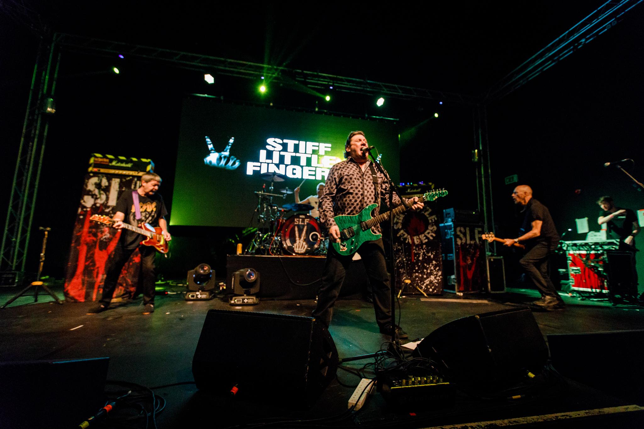 Stiff Little Fingers performing at The Forum Hertfordshire in Hatfield, England - 5/26/2018 (photo by Matt Condon / @arcane93)