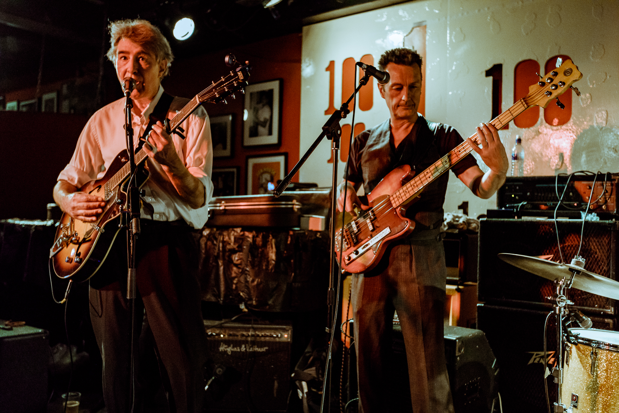 The Jazz Butcher performing at the 100 Club in London, England - 5/27/2018 (photo by Matt Condon / @arcane93)
