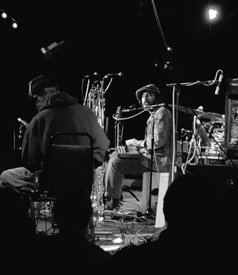 Joachim Cooder opening up for his father at The Birchmere in Alexandria, VA