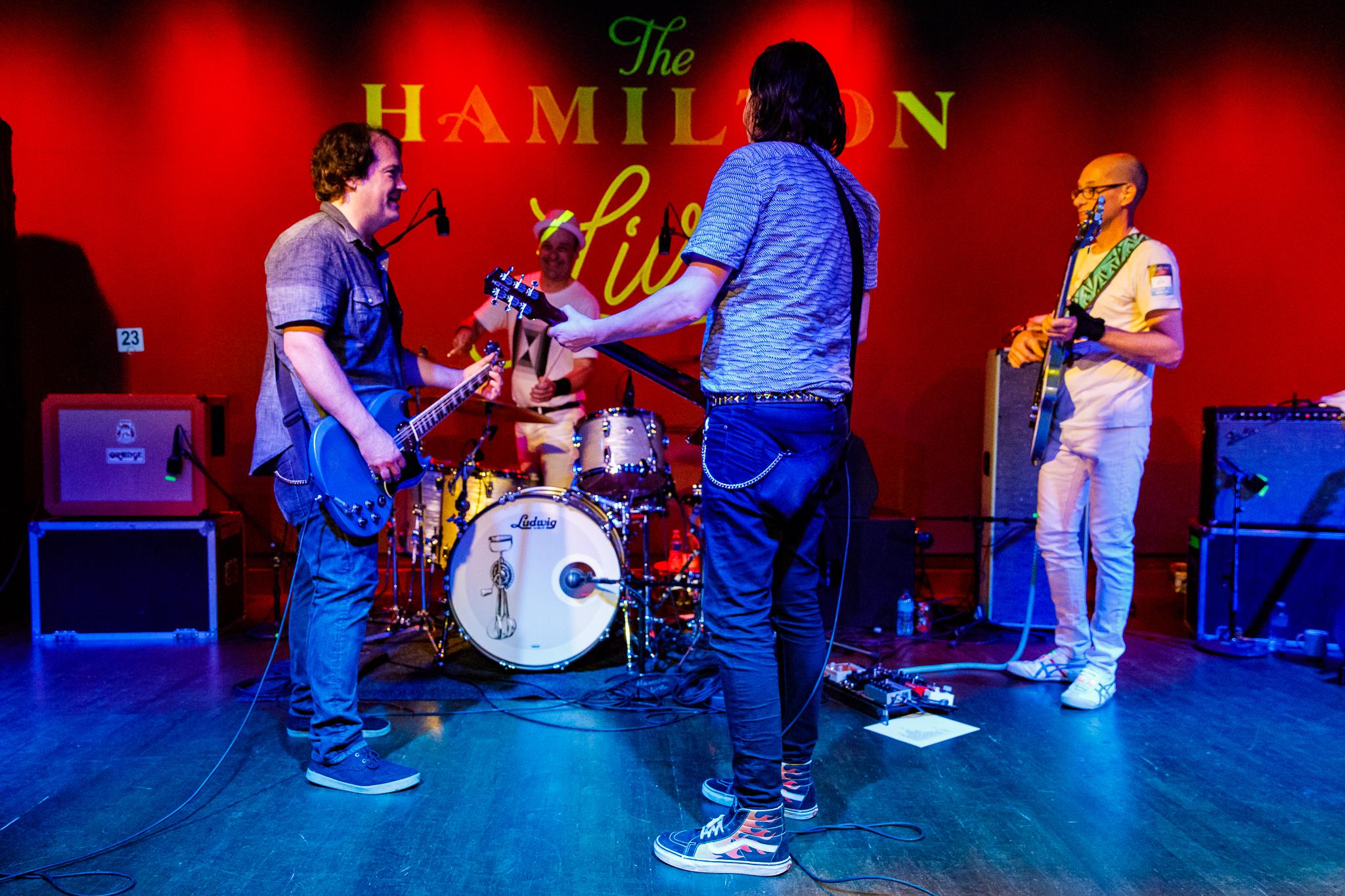 The Posies performing at The Hamilton in Washington, DC - 6/16/2018 (photo by Matt Condon / @arcane93)