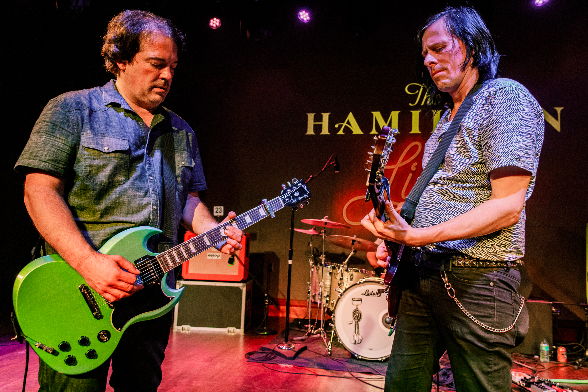 The Posies performing at The Hamilton in Washington, DC on June 16th, 2018 (photo by Matt Condon /  @arcane93 )