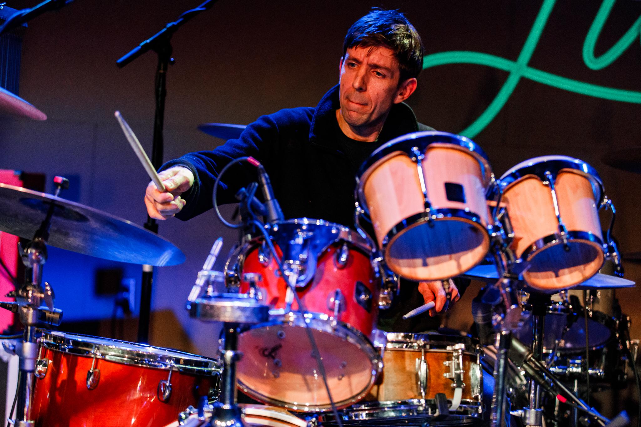Thrushes performing at The Hamilton in Washington, DC - 6/16/2018 (photo by Matt Condon / @arcane93)